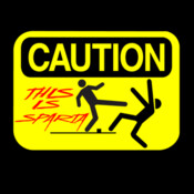 Caution This Is Sparta - HolyShirt Tee
