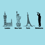 London New York Paris Melbourne - HolyShirt Tee