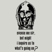 C3PO  - Excuse me sir