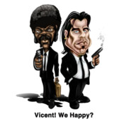 Vincent! We Happy?