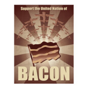 Support The United Nations Of Bacon