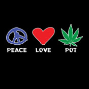 Peace Love Pot