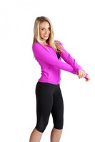 Ladies AVA Nylon/Spandex 3/4 Leggings