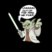 Yoda - Out Of The Park Me Finks - HolyShirt Tee
