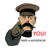 Movember You! Need A Moustache