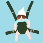 The Hangover Baby Carrier