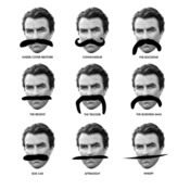 Movember Selleck Moustache