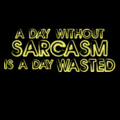 A Day Without Sarcasm Is A Day Wasted