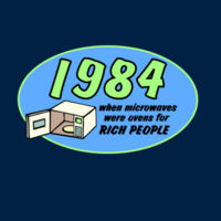 1984 When Microwaves Were Ovens For Rich People - HolyShirt Tee Thumbnail