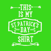 This Is My St.Patrick's Day Shirt Thumbnail